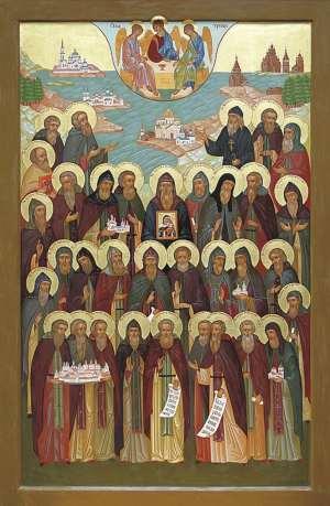 Святые, входящие в Собор Карельских Святых (3 июня по новому стилю)