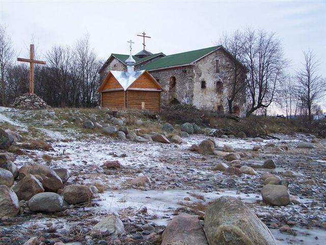Николо-Стороженский монастырь. Первые заморозки.