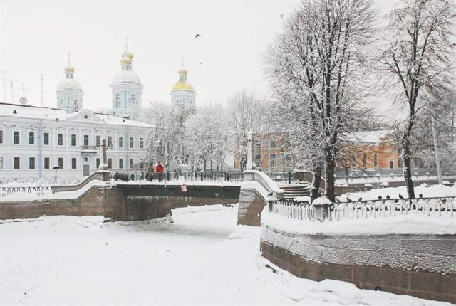 фото в санкт-петербурге зима