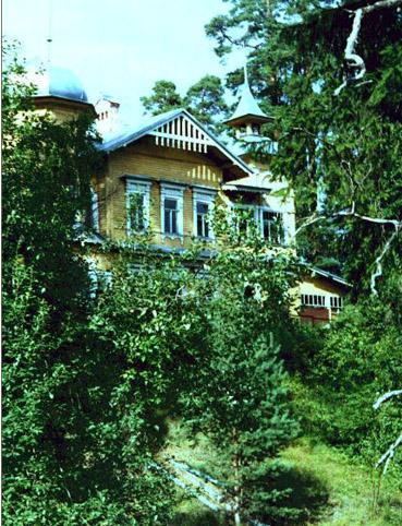 Детский сад - бывший дом купца Бумагина