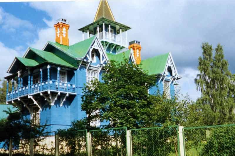Чуриковский дом.