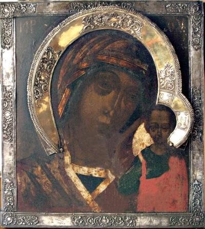 Родовой образ семьи Муравьевых - Казанская икона Божией Матери